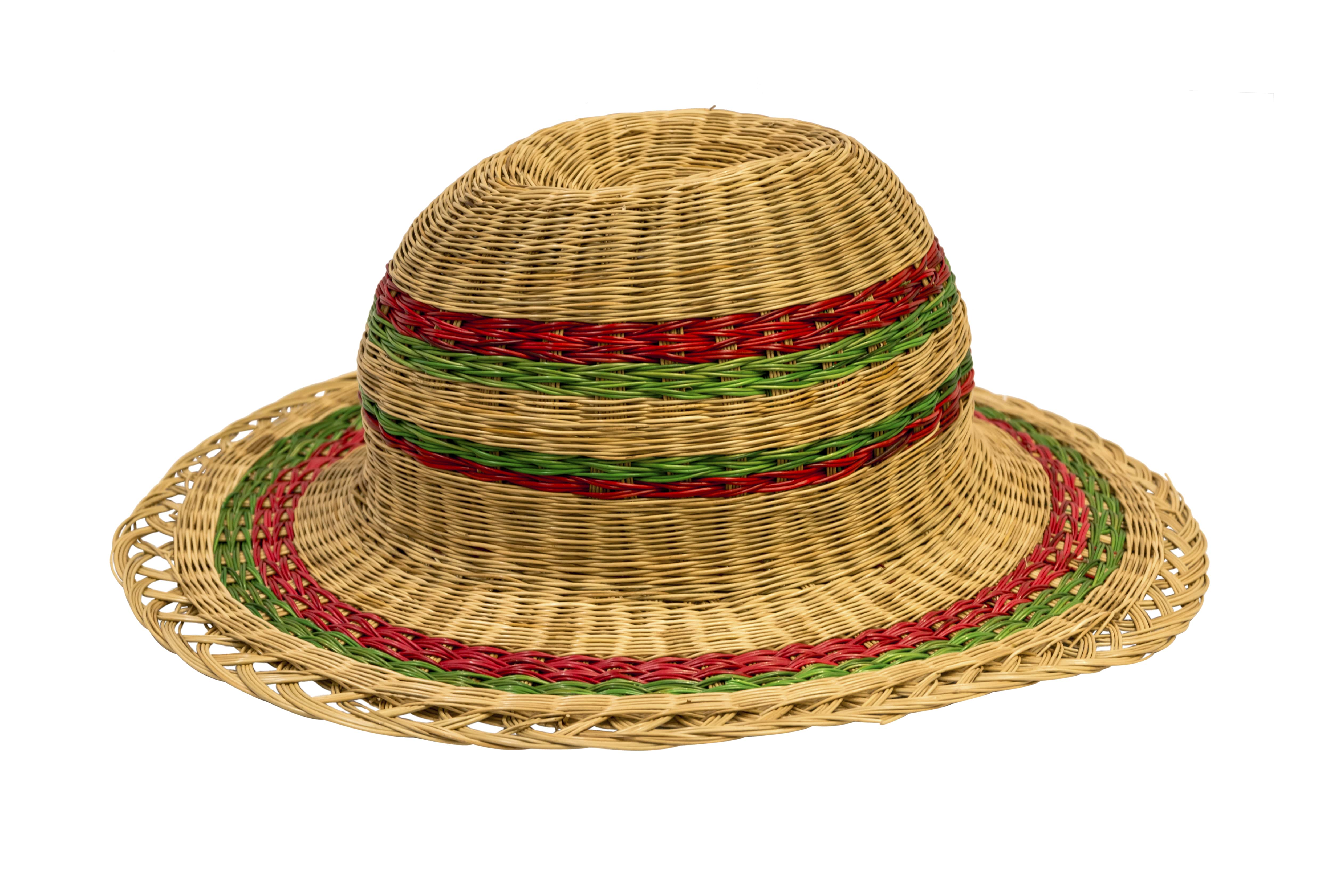 Esparto fiber hat