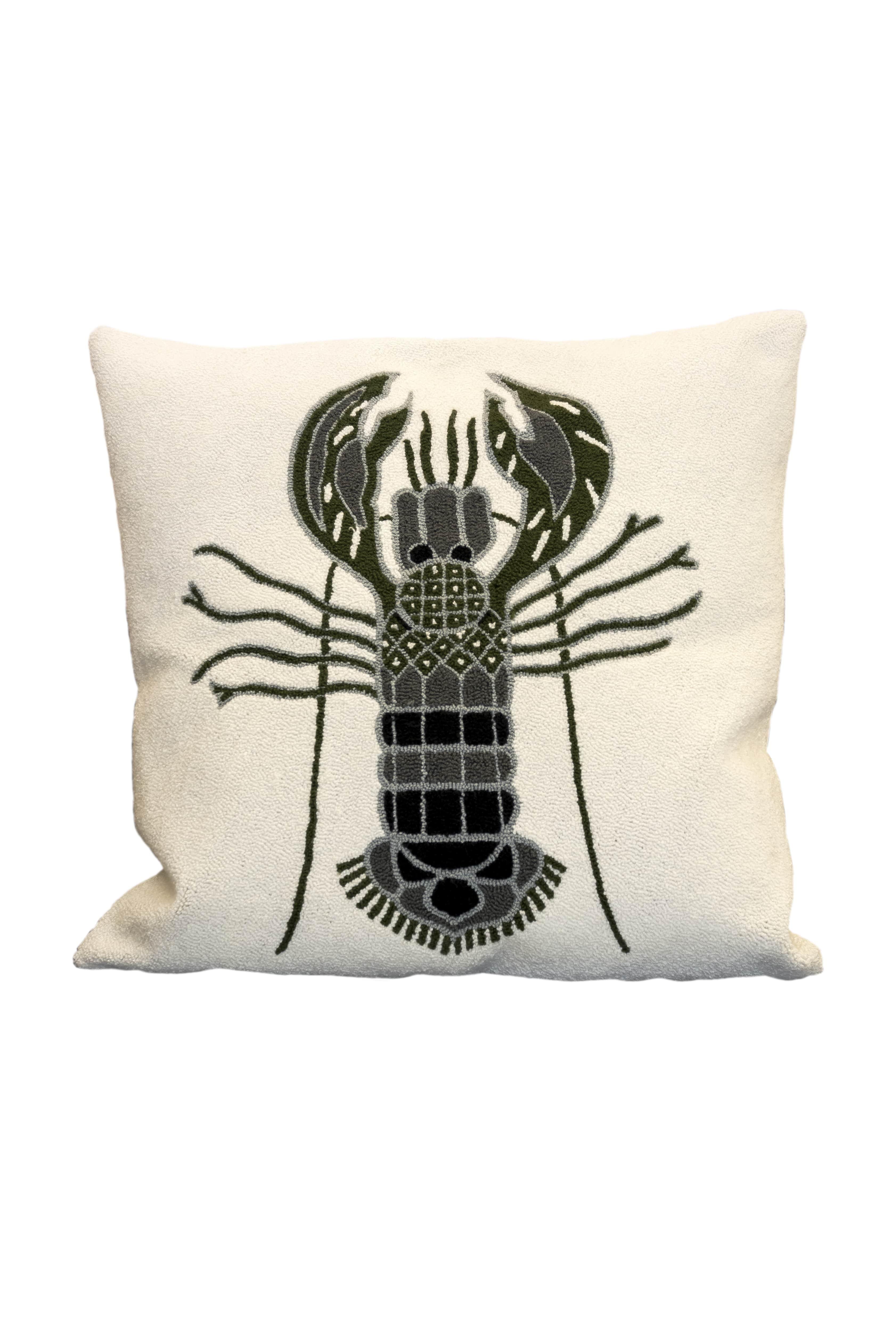 Puyao Lobster grey cushion