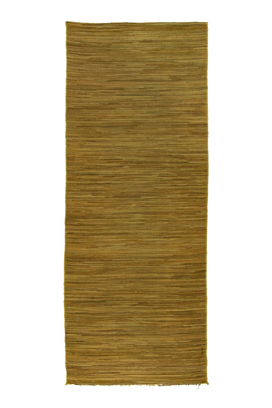 Green bamboo mat