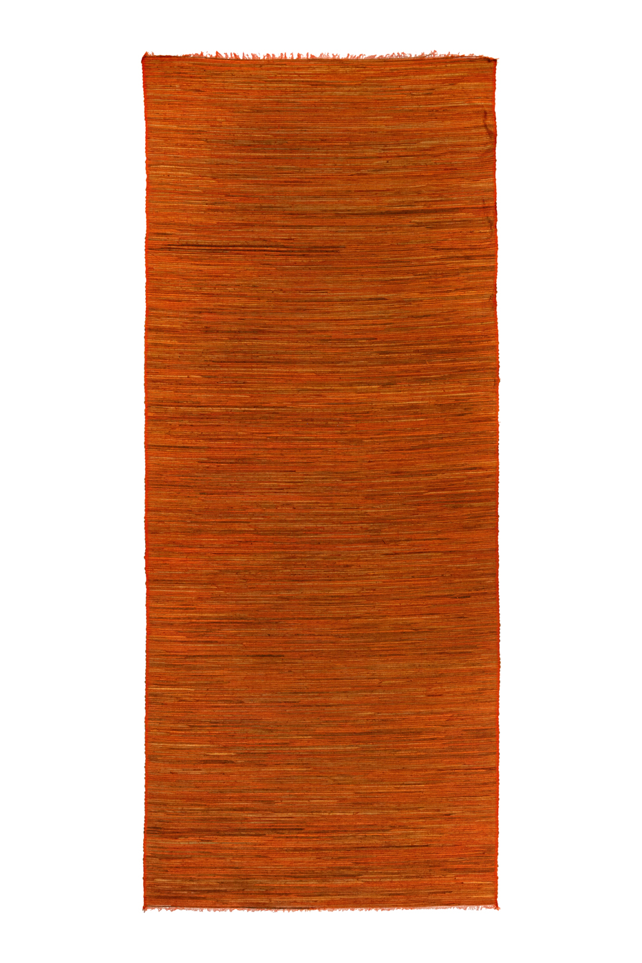 Orange bamboo mat