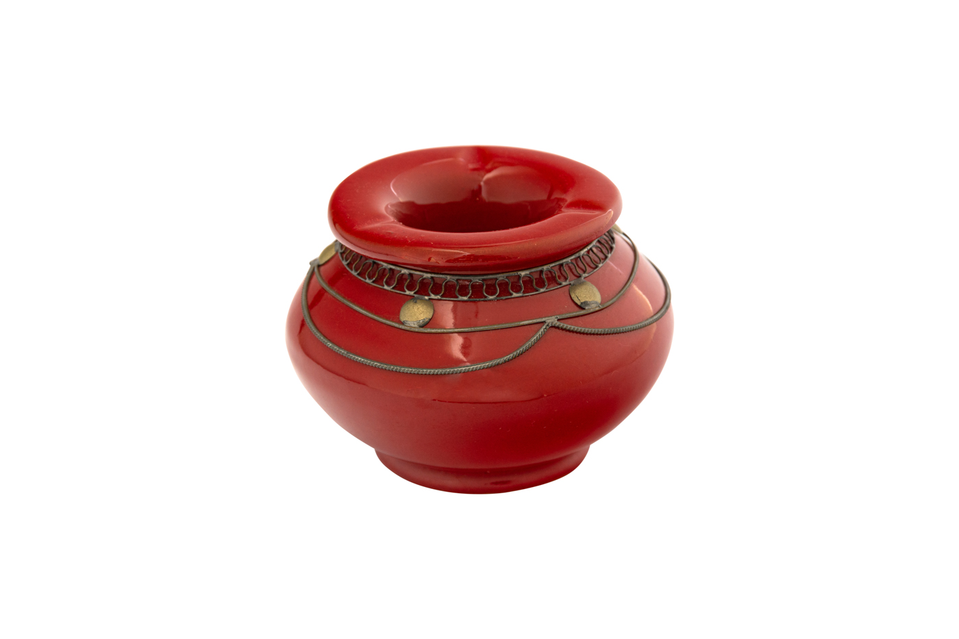 Moroccan Red Ashtray