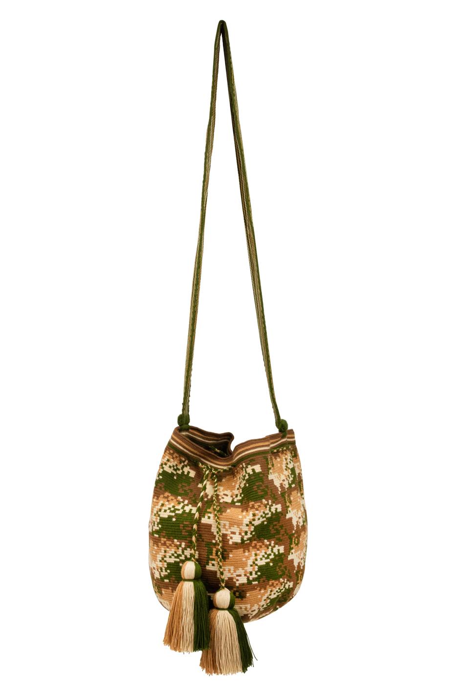 Mochila Wayuu-verde