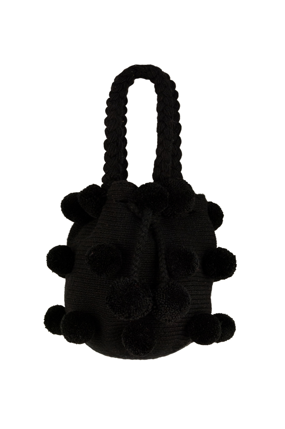 Backpack 26 Pompones Black