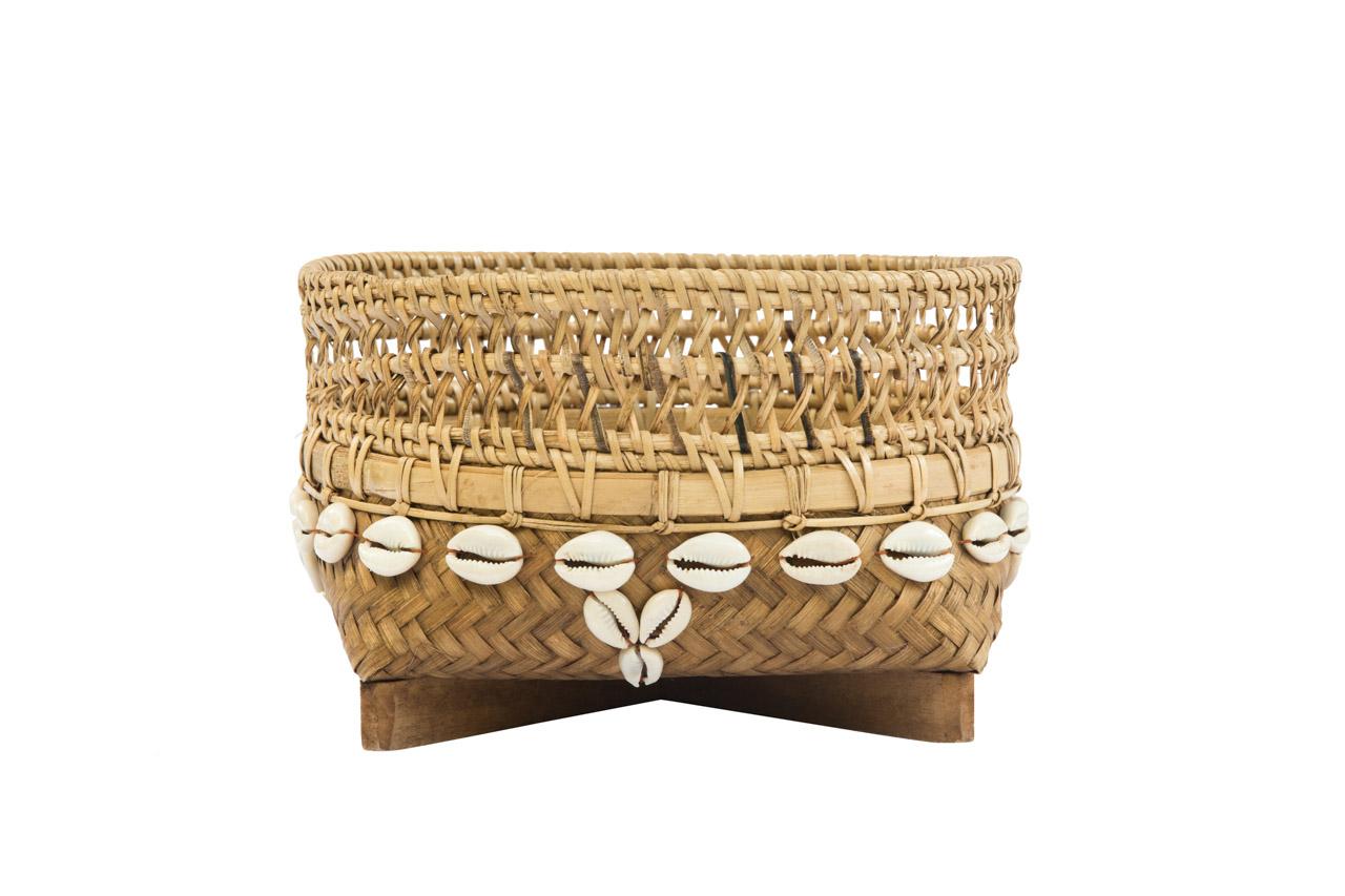 Canasto Bamboo 20  Cms