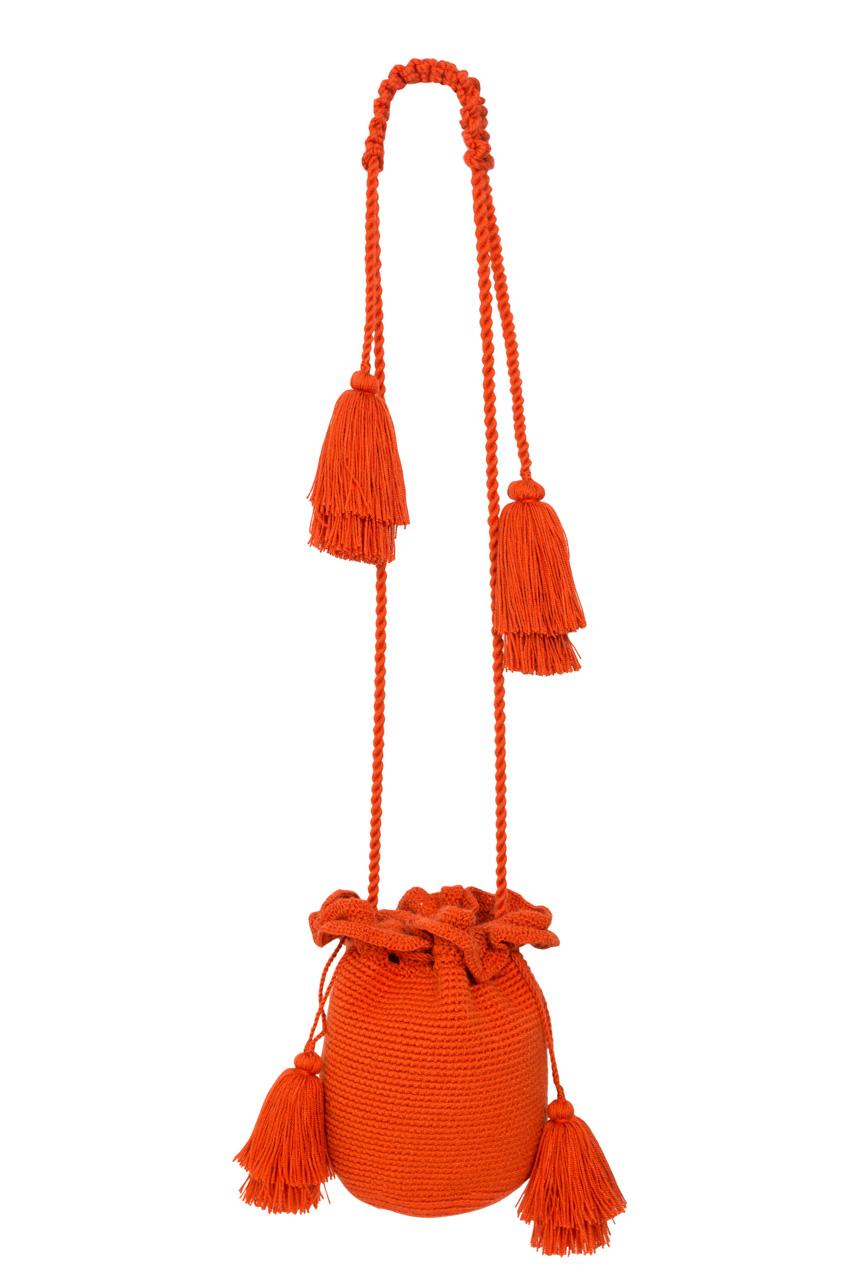 Backpack Guapa tubular terracotta