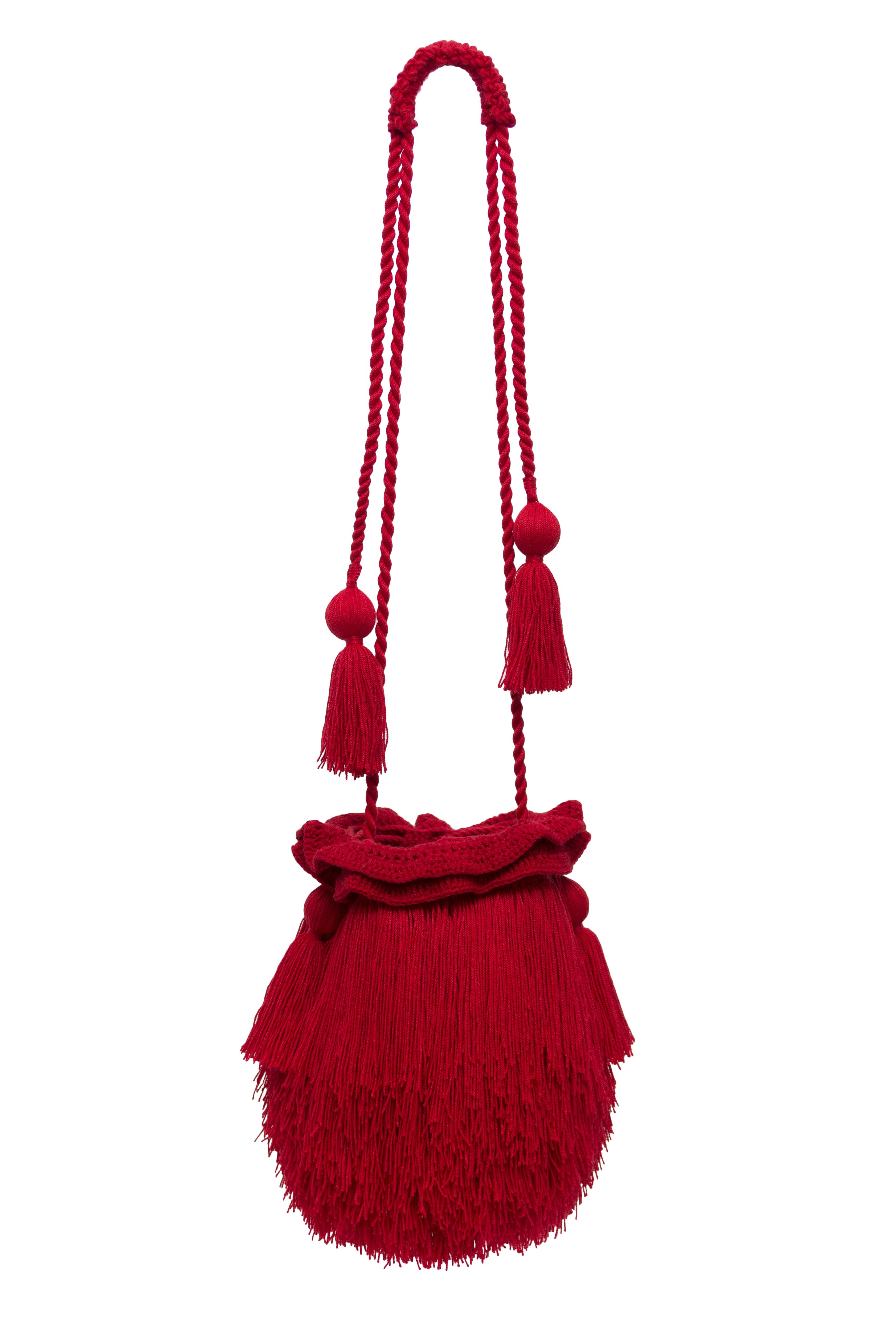 Mechuda red backpack