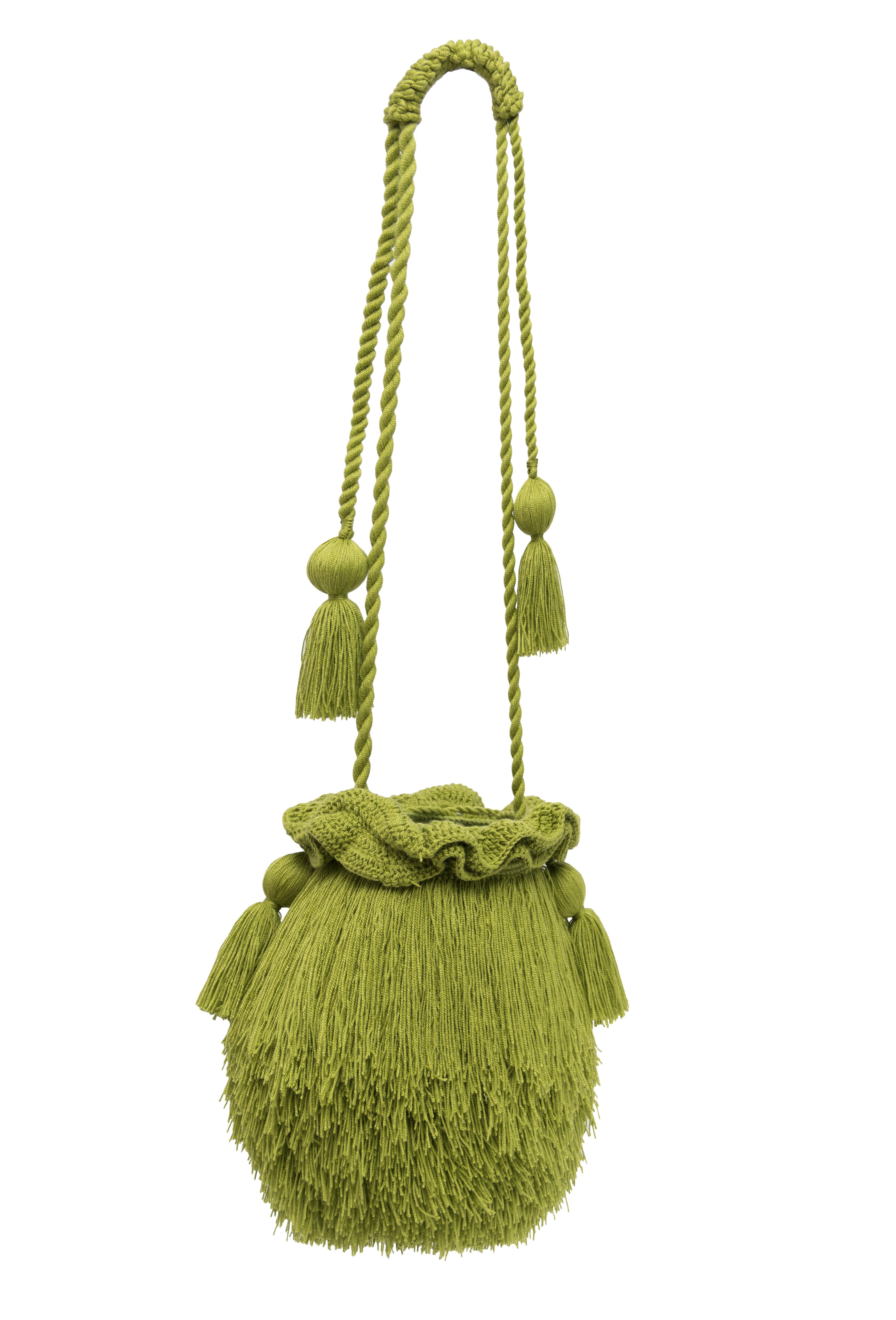 Olive green Mechuda backpack