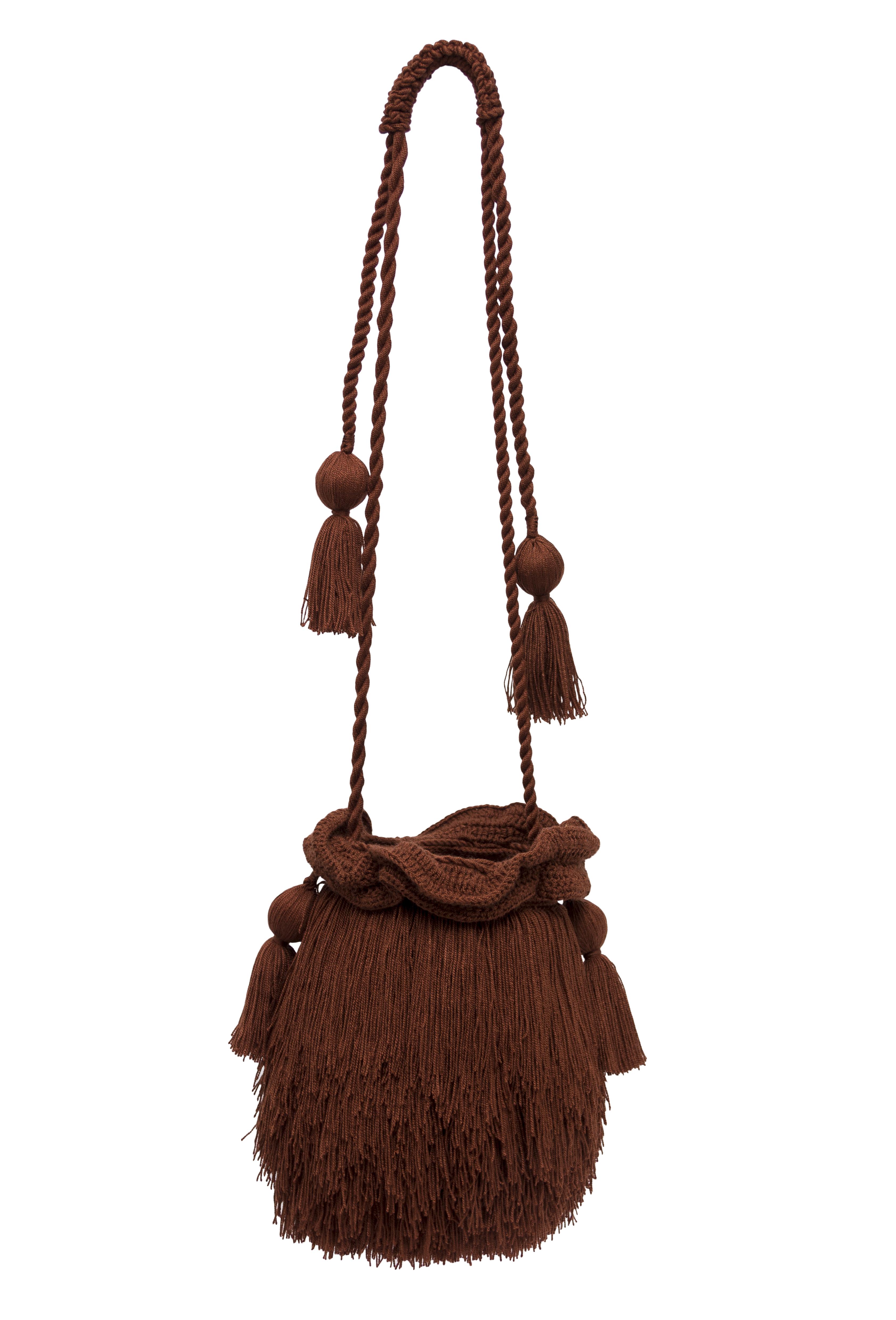 Brown Mechuda backpack