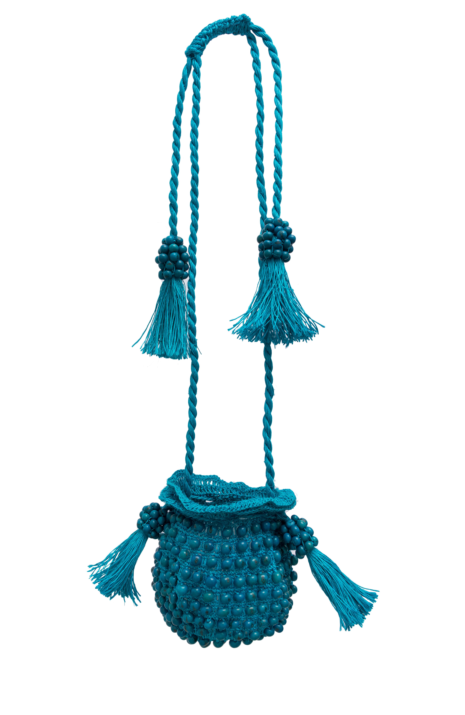 Backpack La Guapa Tagua turquoise