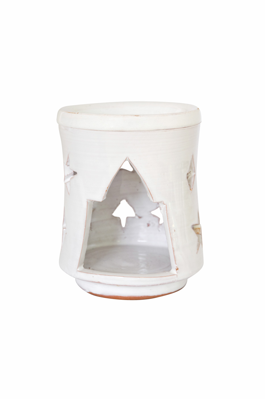 Moroccan ceramic lantern