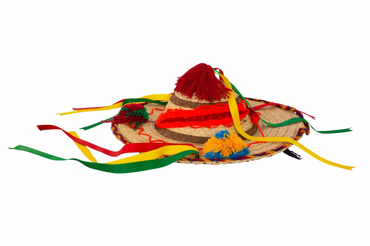 Mexican natural fiber hat