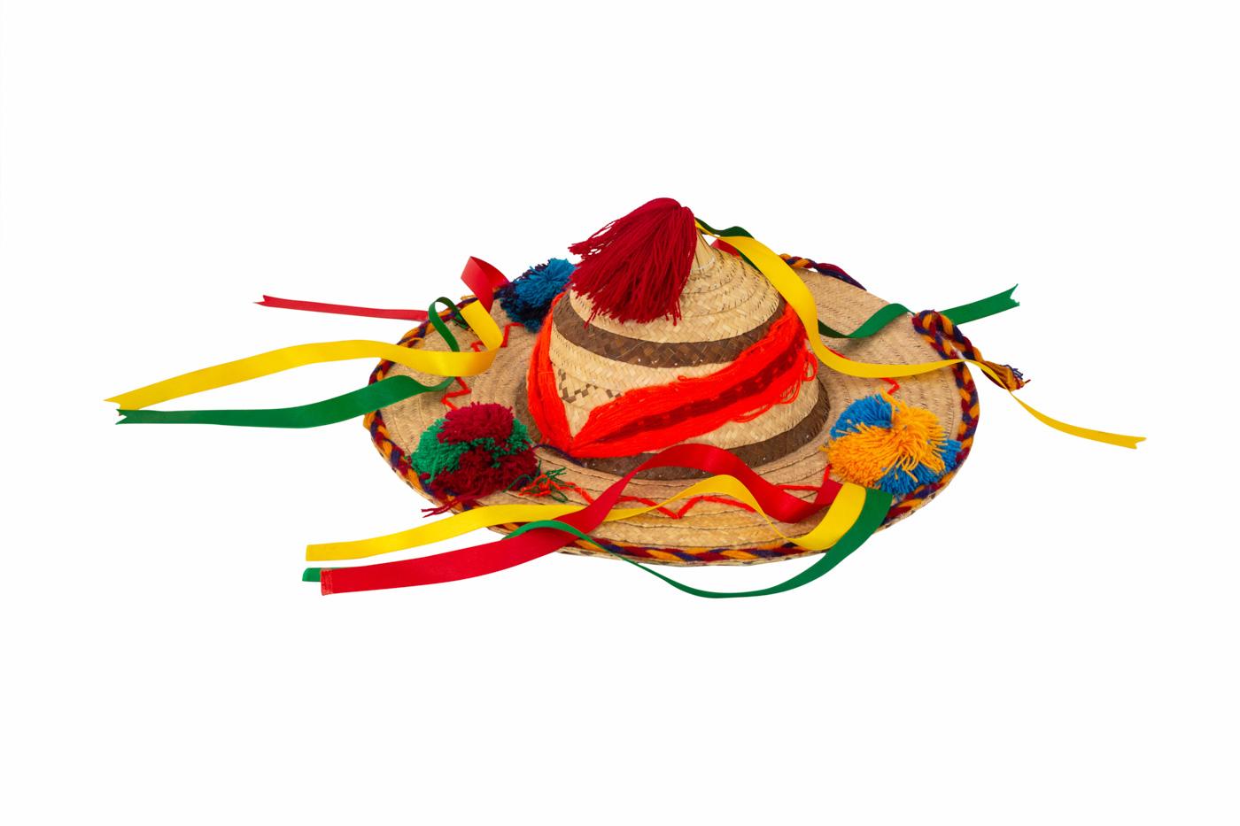 Sombrero Mexicano de fibra natural