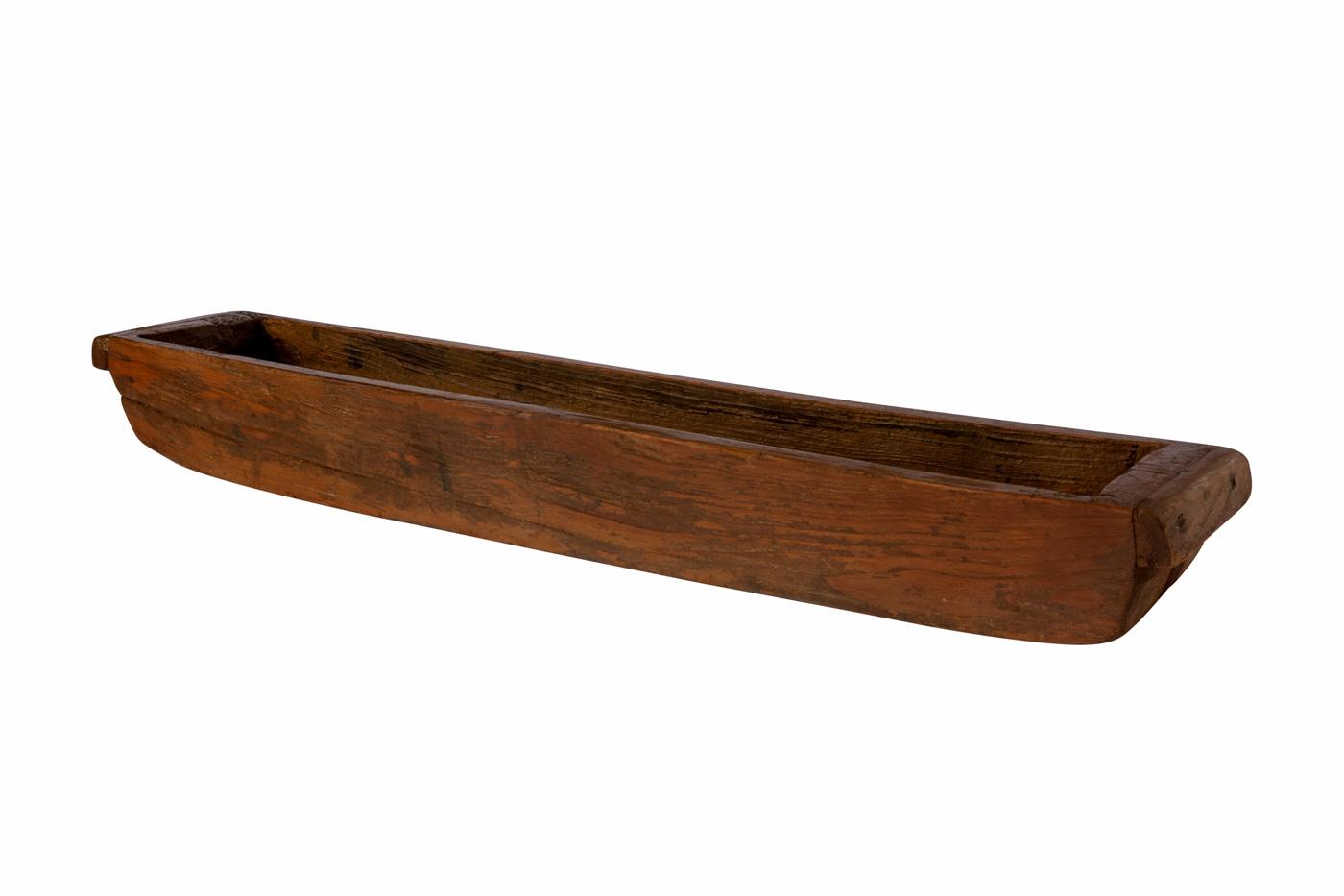Jardinera de madera teka