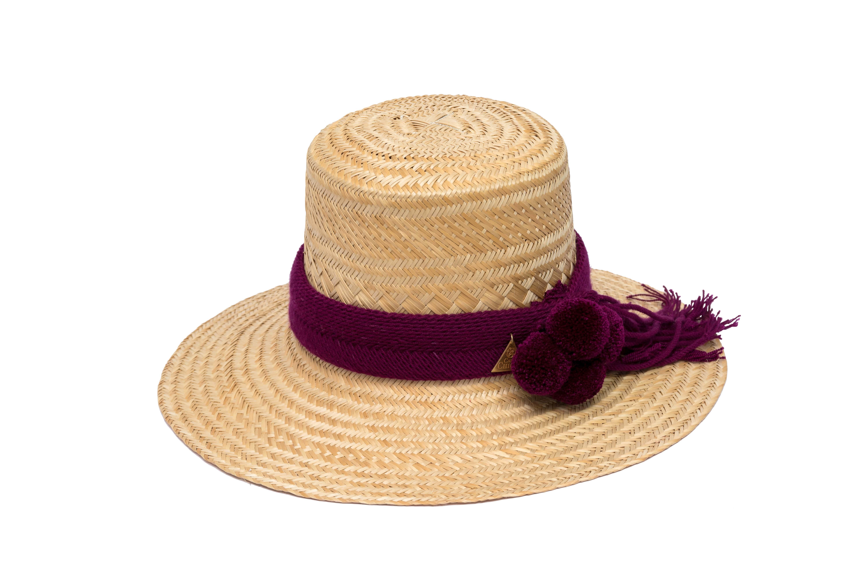 Sombrero Wayuu natural