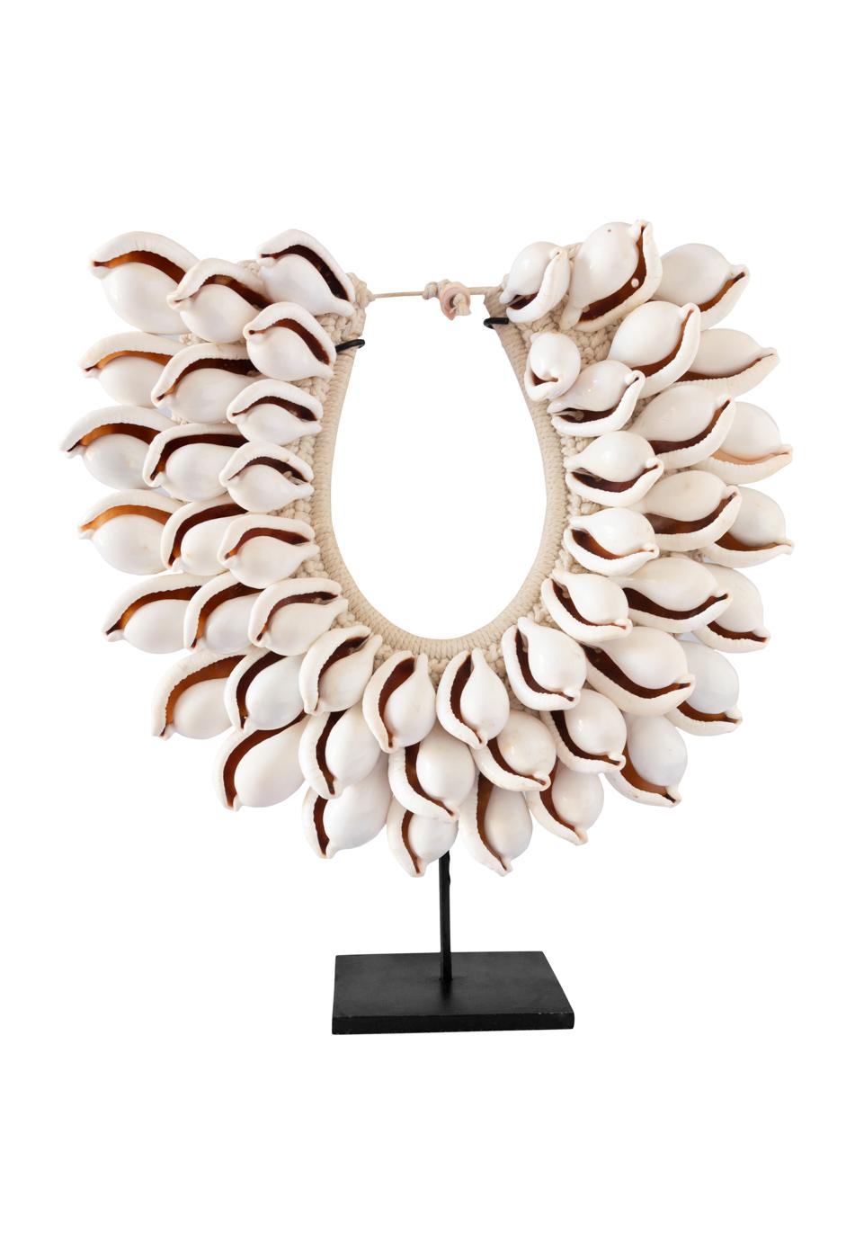Collar decorativo conchas de caracoles ovila ovum