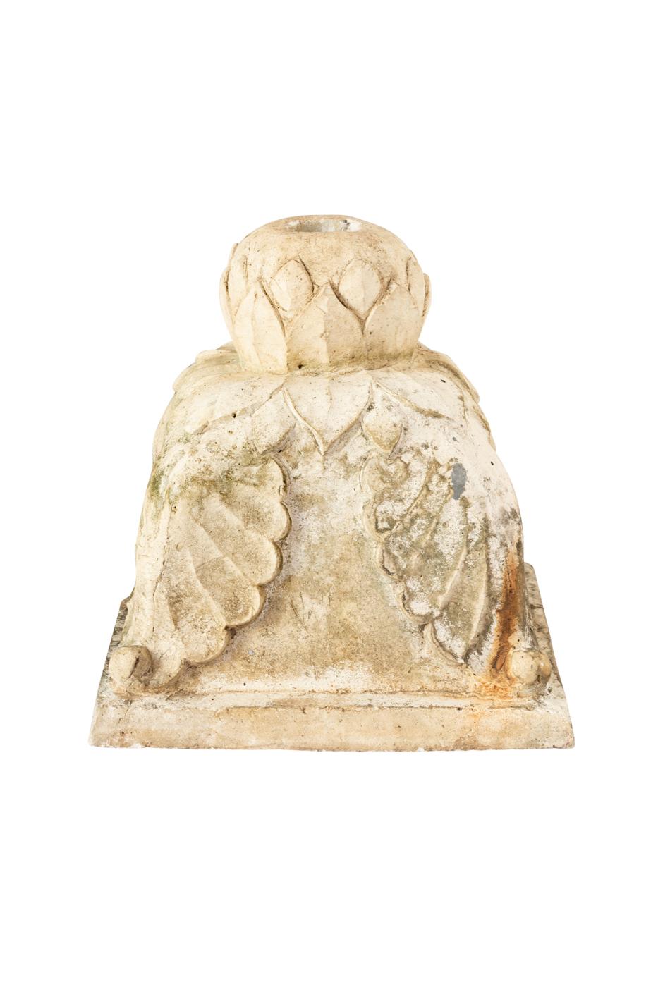 Umbrella stand in natural stone