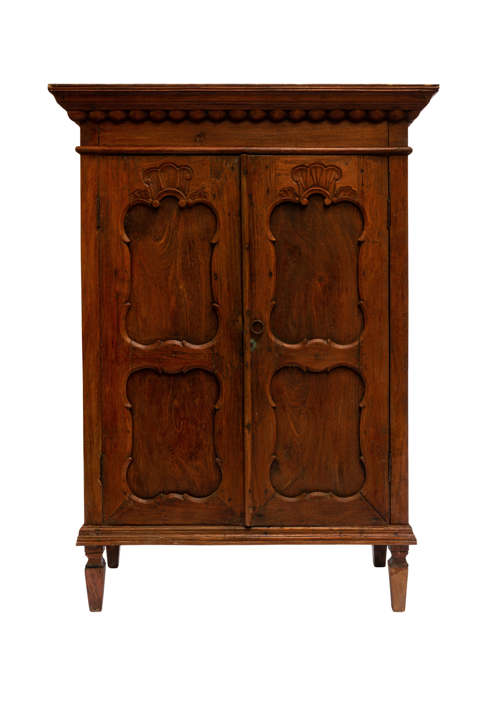 Indonesian wood carved wardrobe