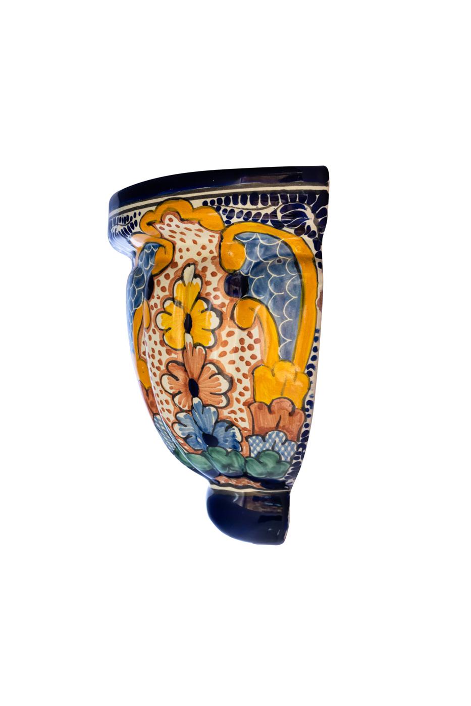 Talavera ceramic wall light