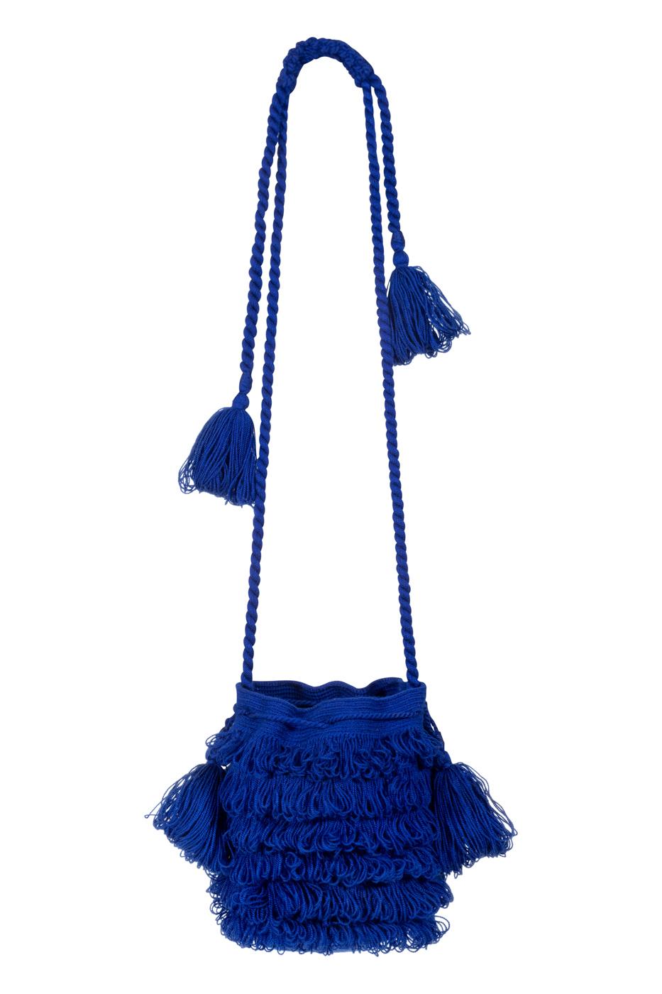 Mochila Bigotes azul rey