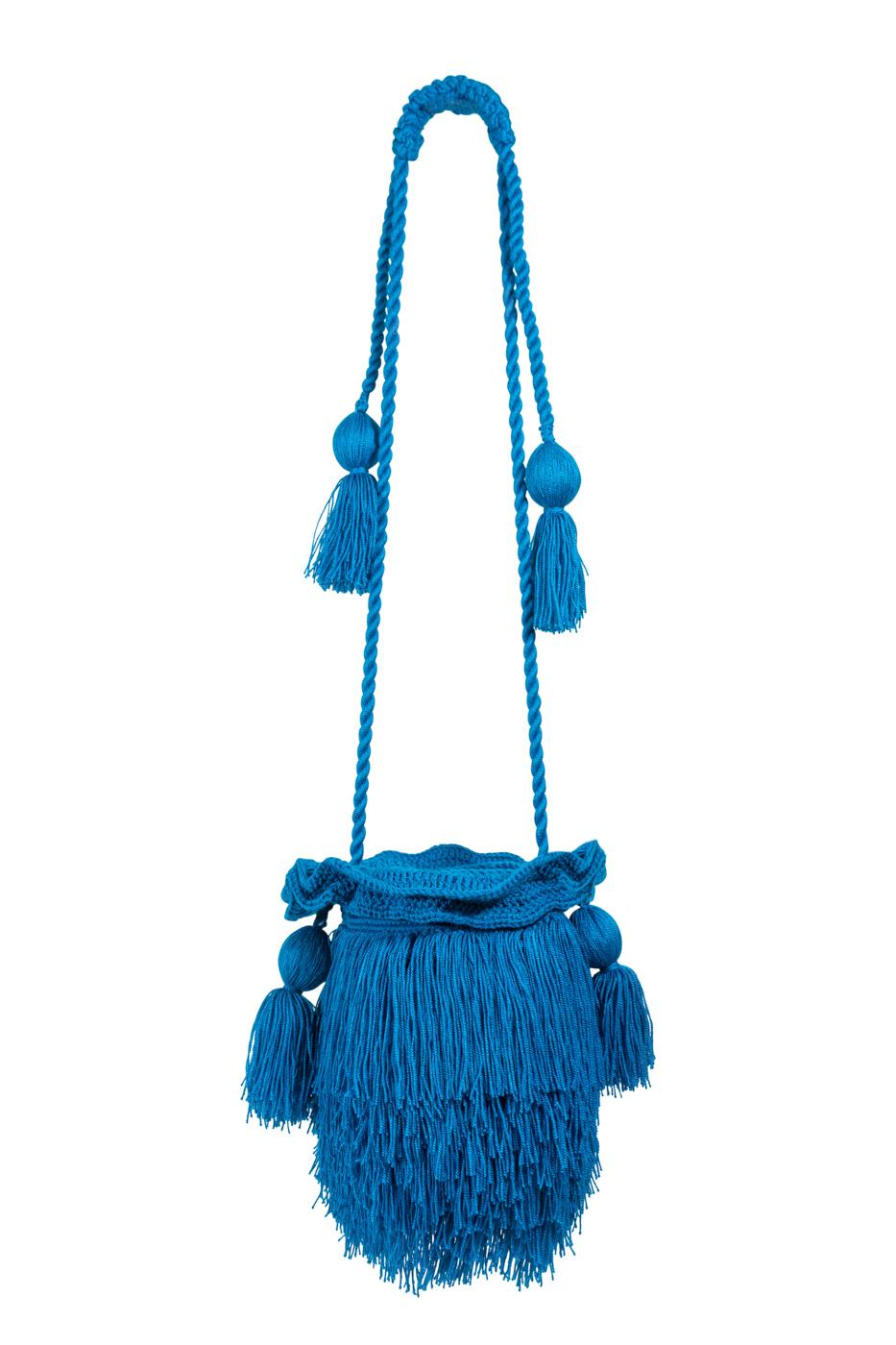 Mochila Mechuda- azul turquesa