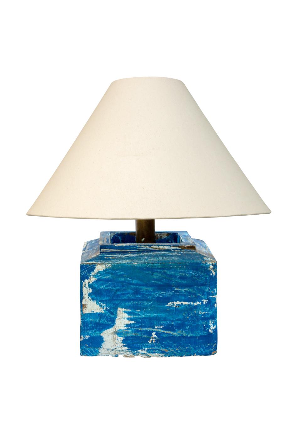 Lámpara de mesa portavela