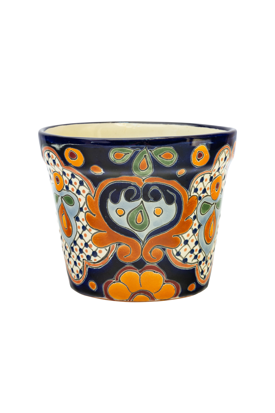 Pot  in  ceramic Talavera