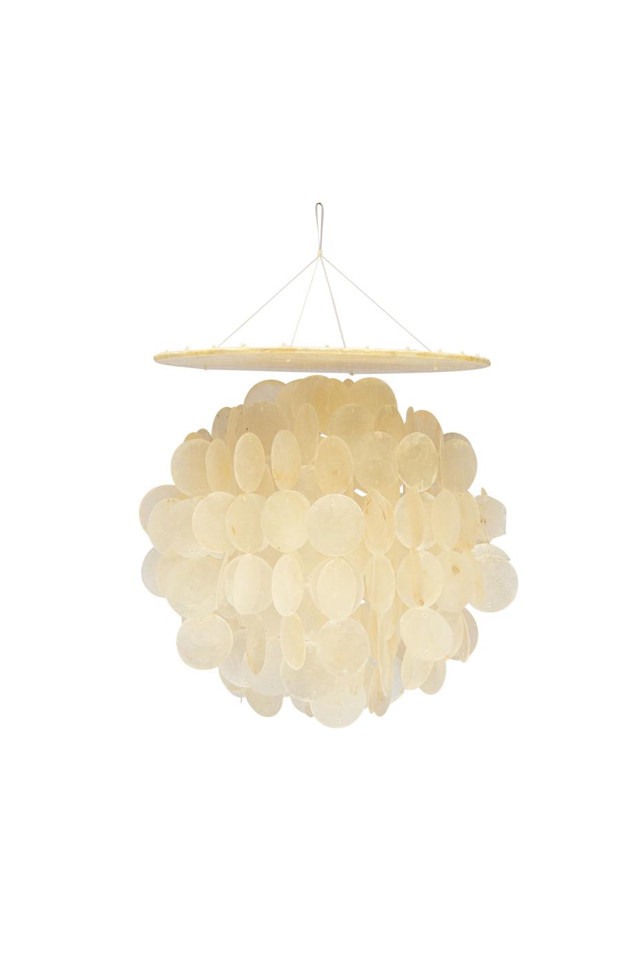 Lámpara de colgar en nácar-pequeña