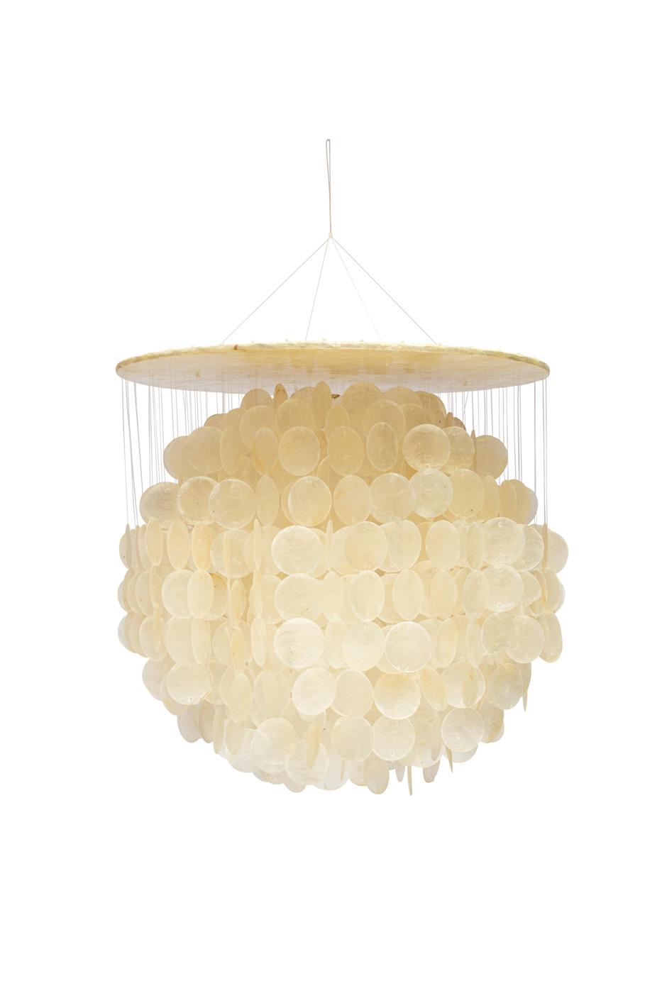 Lámpara de colgar en nácar-grande