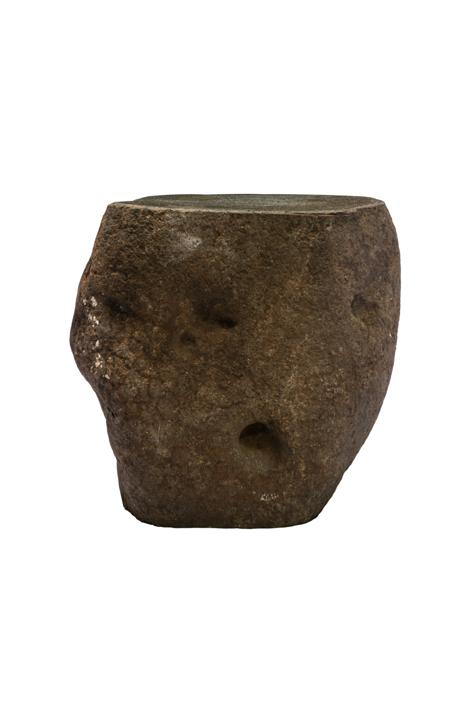 Taburete de piedra natural