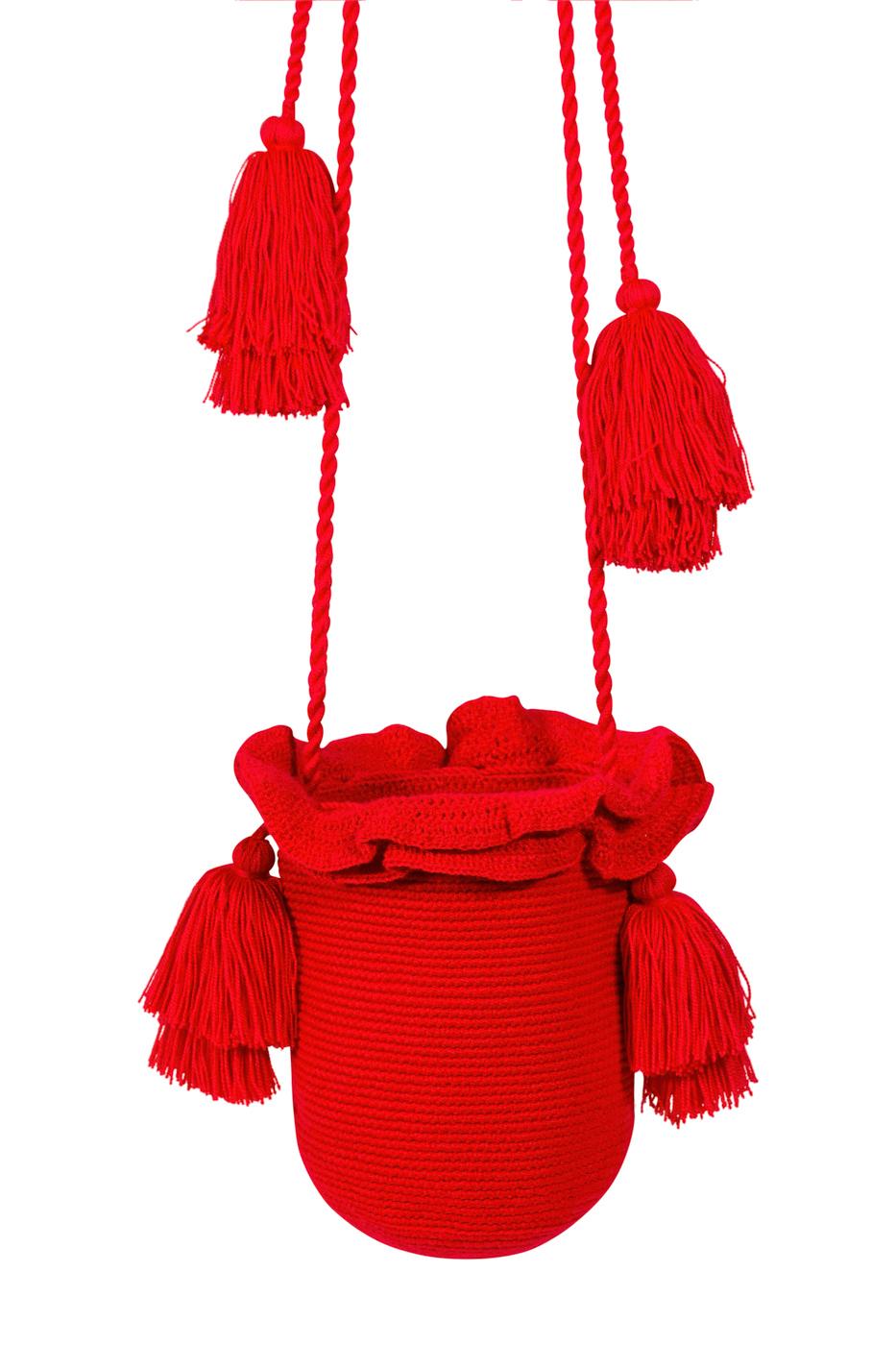 Mochila Guapa tubular roja