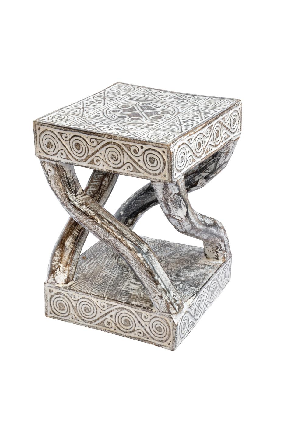 Infiniti side table in East Timor wood