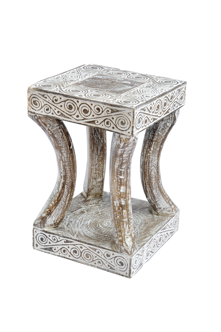 East Timor wood Baton side table