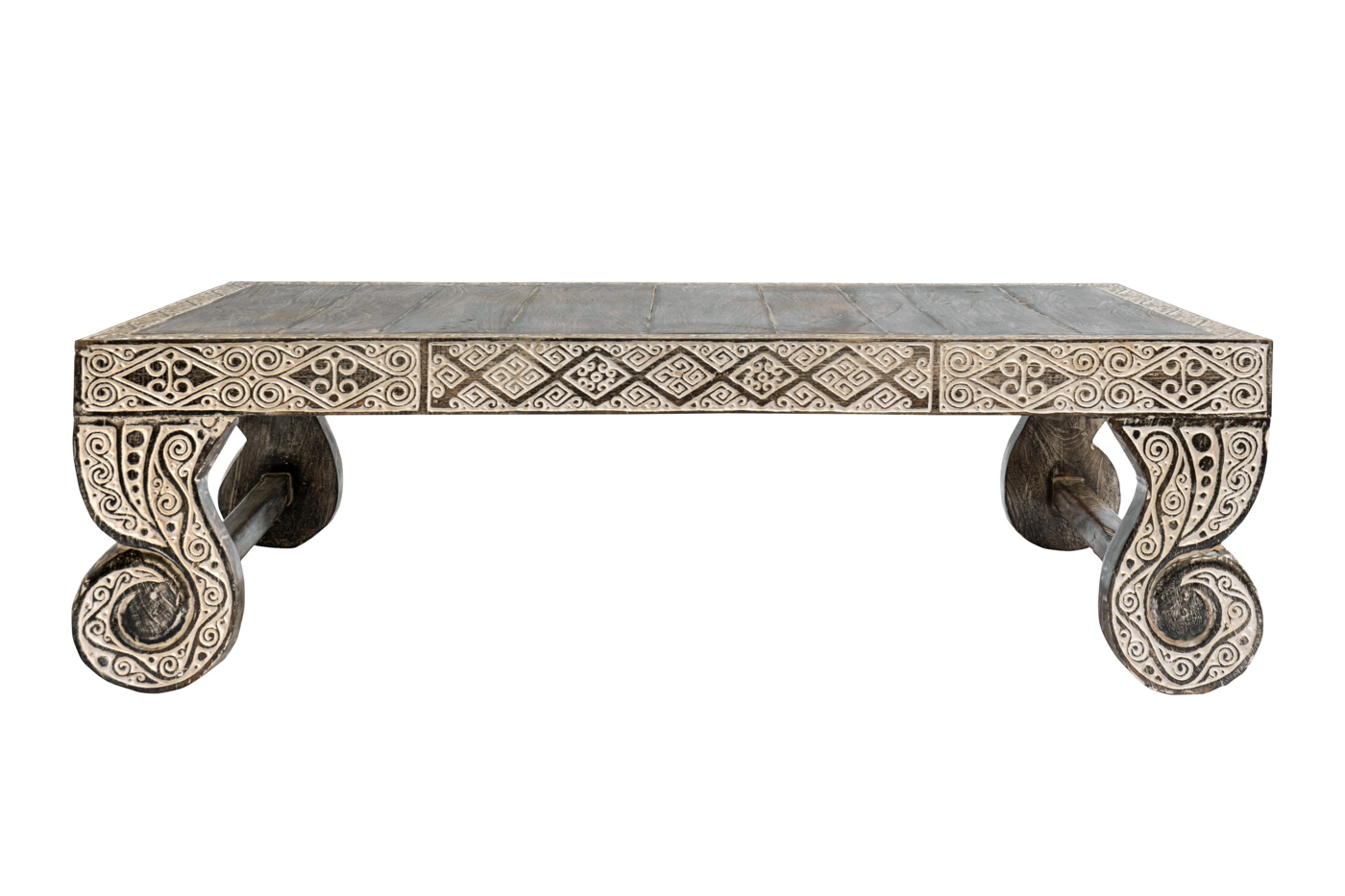 Coffee table Timor carved-coffee/wash coffee table