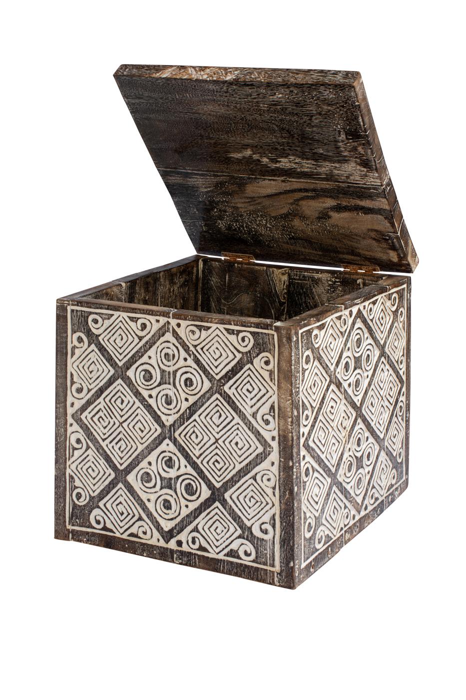 Baúl decorativo Timor en madera