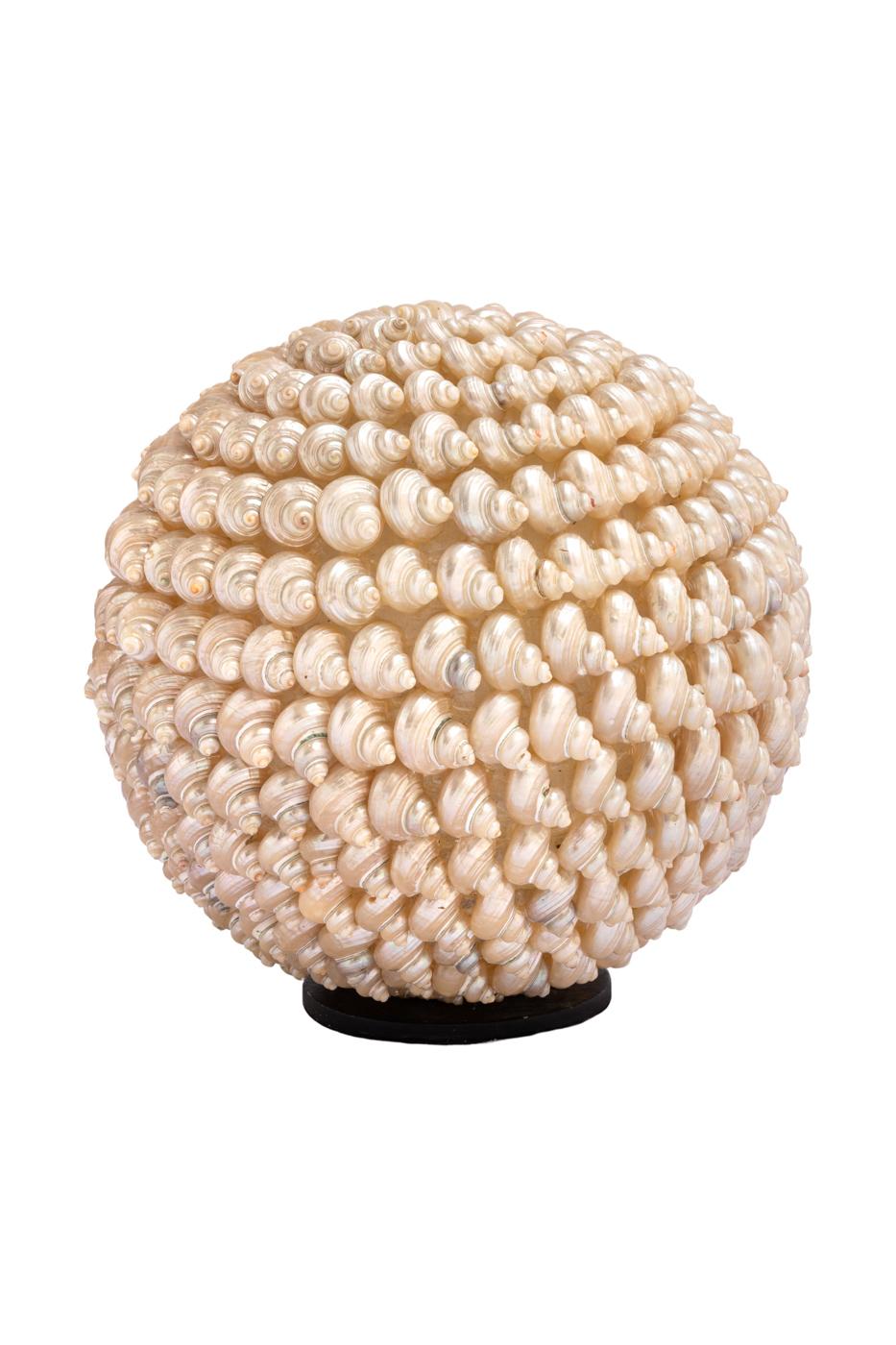 Lámpara de mesa de lágrimas de caracol