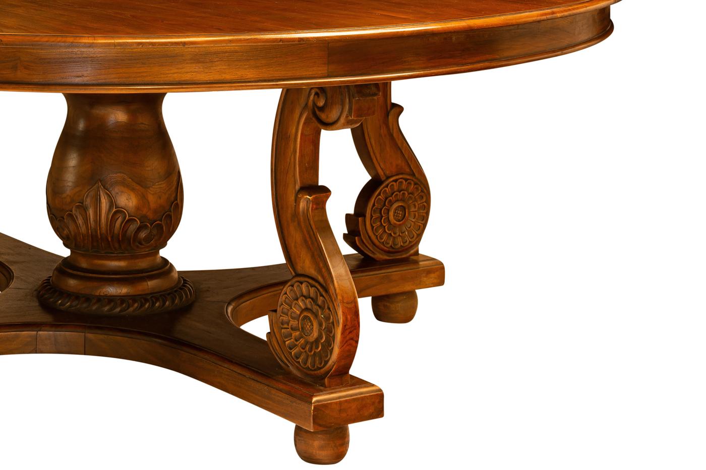 Mesa de comedor en teka