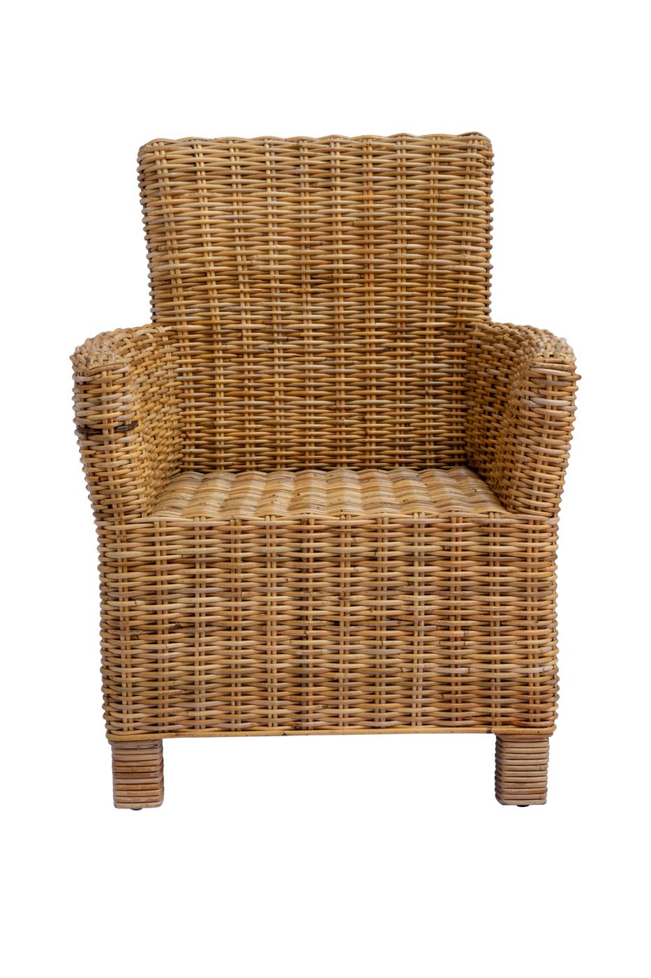 Ayak Malboro chair in rattan