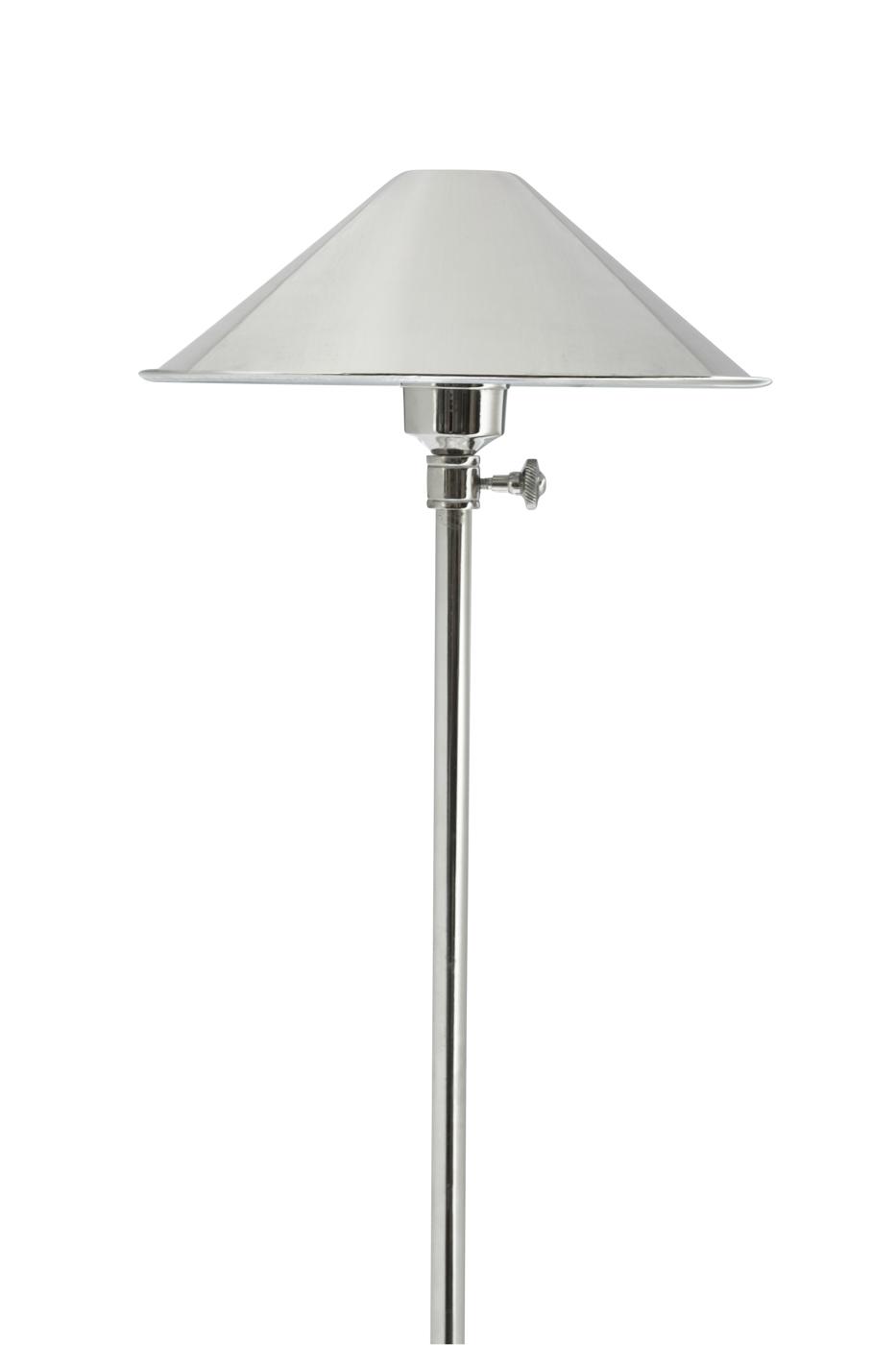 Lámpara de pie en metal