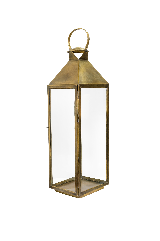 Moroccan Lantern in bronze-70 Cm H