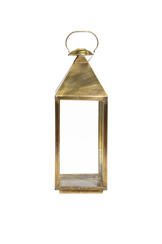 Moroccan Lantern in bronze-84 Cm H