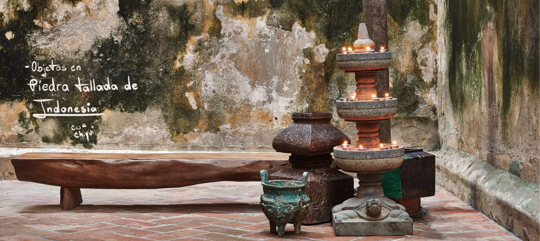 Nuestras piezas en Piedra Tallada de Indonesia
