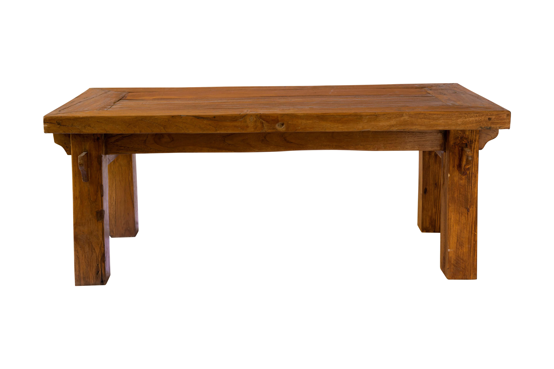 Mesa de centro vintage de madera teka