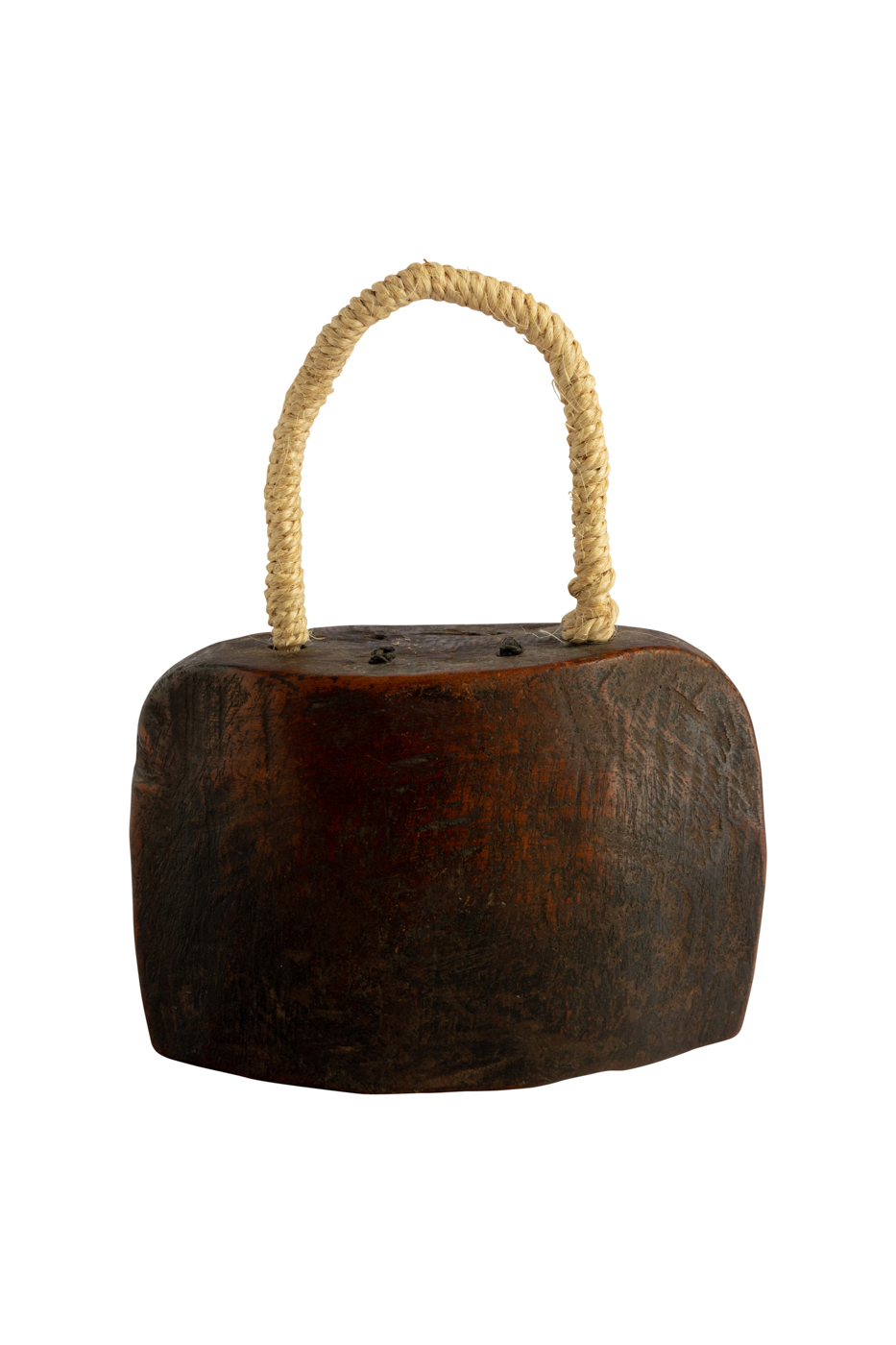 Cencerro en forma de Campana en madera