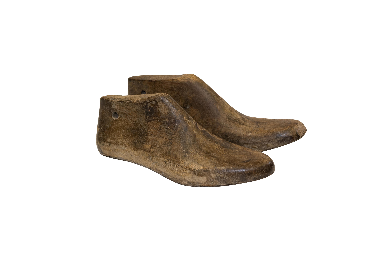 Molde de zapatos en madera