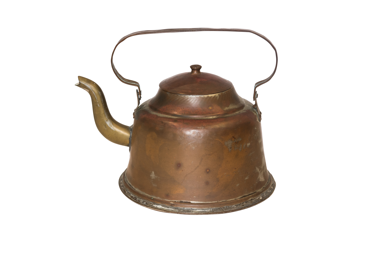 Tetera decorativa en cobre