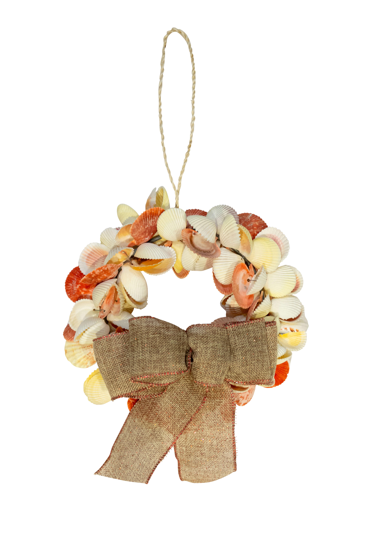Corona decorativa caracoles