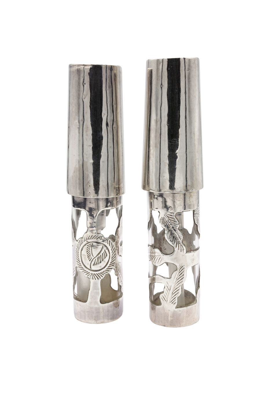 Set perfumeros en plata