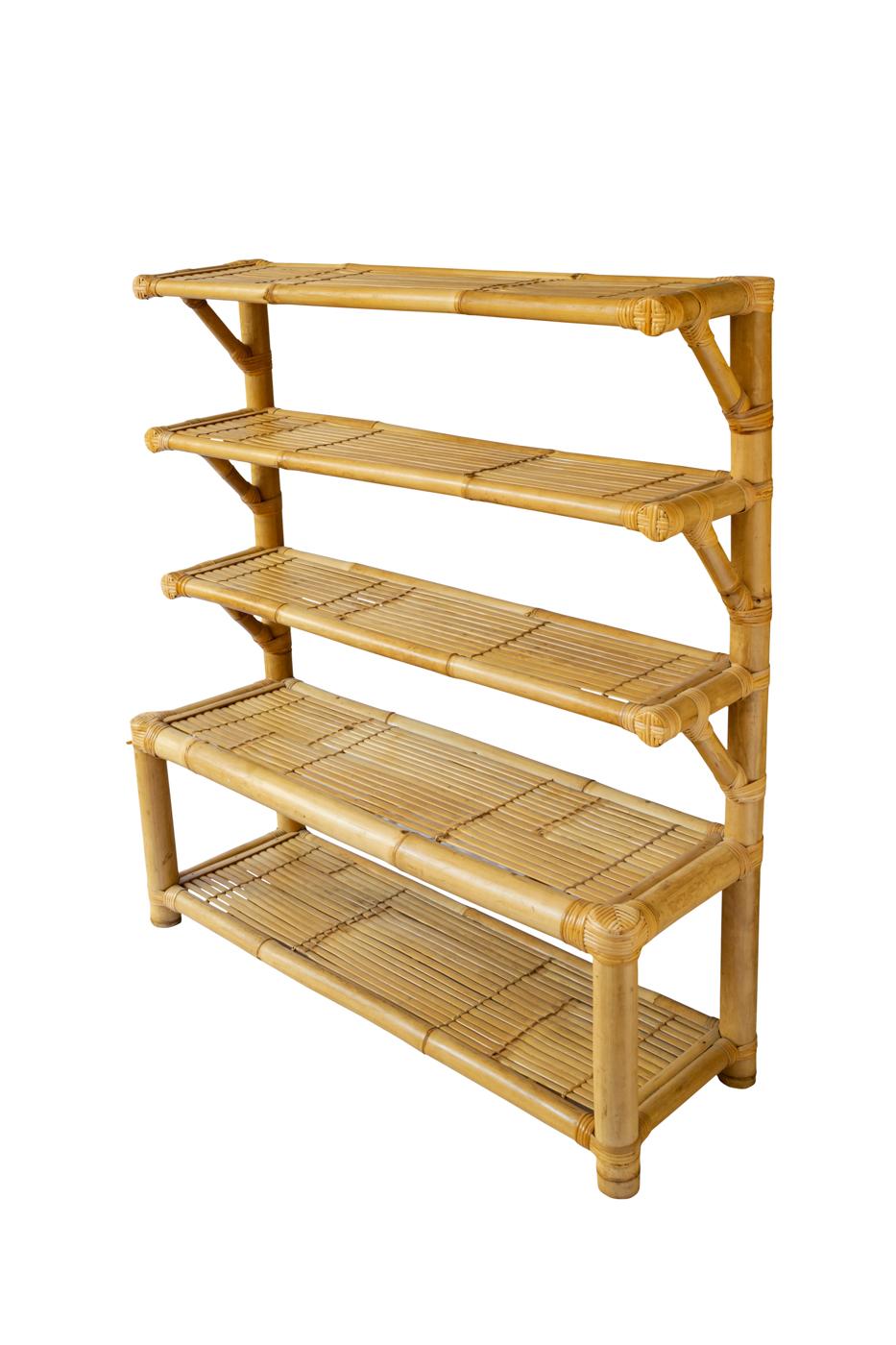 Rack en bamboo 5 niveles
