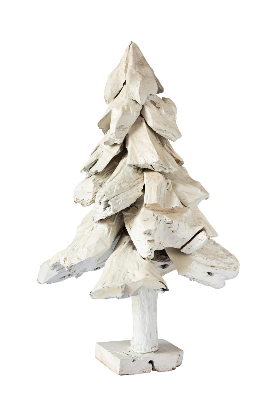 Árbol de navidad en madera teka