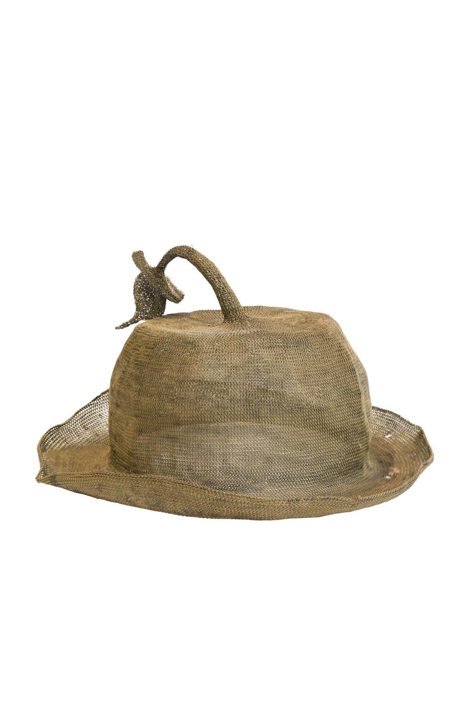 Sombrero Ceremonial Indonesia Envejecido